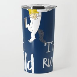 Let the Wild Rumpus Start Travel Mug