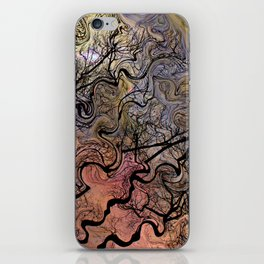 Van Goghs Orion Nebula by Barbara Chichester iPhone Skin
