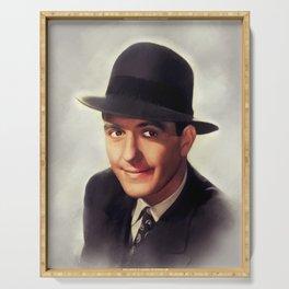 Hugh Beaumont, Vintage Actor Serving Tray