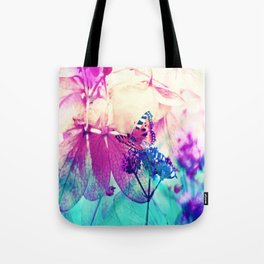 Butterfly in Wonderworld 2 Tote Bag