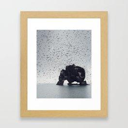 Face Your Fears Framed Art Print