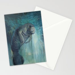 Undead Manatee Stationery Cards