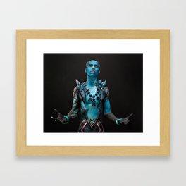 Shiva and Mateus Framed Art Print