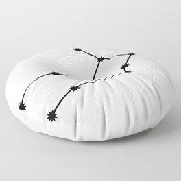 Virgo Astrology Star Sign Minimal Floor Pillow