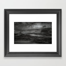 A lonley place to die Framed Art Print