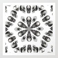 A Death Hex Art Print
