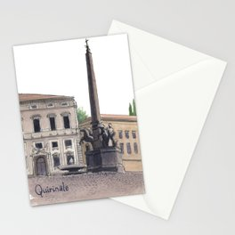 PALAZZO DEL QUIRINALE, Rome Travel Sketch by Frank-Joseph Stationery Cards