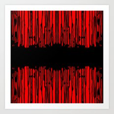 Partial Abstract V1 Art Print