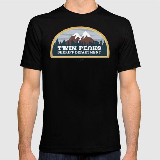 Twin Peaks Sheriff Department (Redux) T-shirt