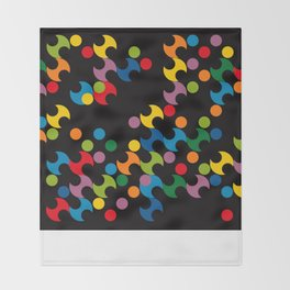 DOTS - polka 2 Throw Blanket