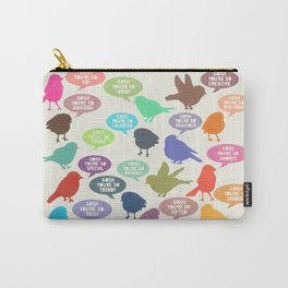 Birdsong_Gosh Quotes by Garima & Rachel Carry-All Pouch