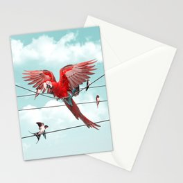 COLORFUL STRANGER Stationery Cards