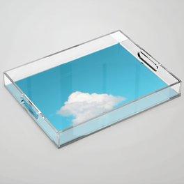 Happy Cloud Acrylic Tray