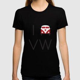 I heart Campervans T-shirt