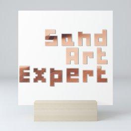 Sand Art Expert Mini Art Print