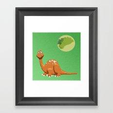 Dino Doodle Framed Art Print