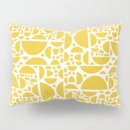 Mid Century Lemon Wedges  Pillow Sham