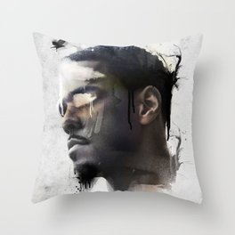 Cole World Throw Pillow