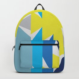 SUN_Yellow Star_Summer - Style Me Stripes Backpack