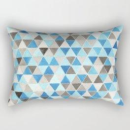 #54. CHRIS - Triangles Rectangular Pillow