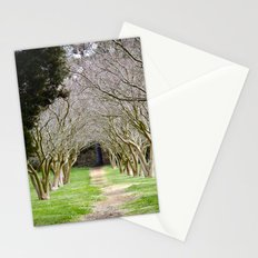 The Path of Life Ends Stationery Cards