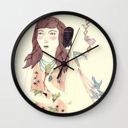 Pricked Wall Clock