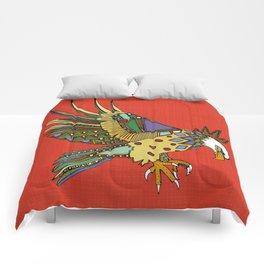 jewel eagle fire Comforters