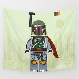 Star.Wars Boba Fett styled Mini Figure Wall Tapestry