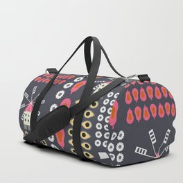 Windmills, fruits and flowers Duffle Bag