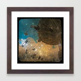 Swing Me To The Moon Framed Art Print