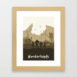 Borderlands Framed Art Print