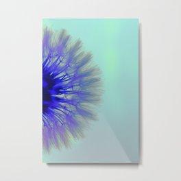 Blowing Dandelion V Metal Print