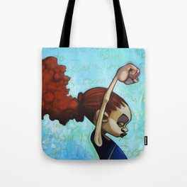 strong convictions Tote Bag