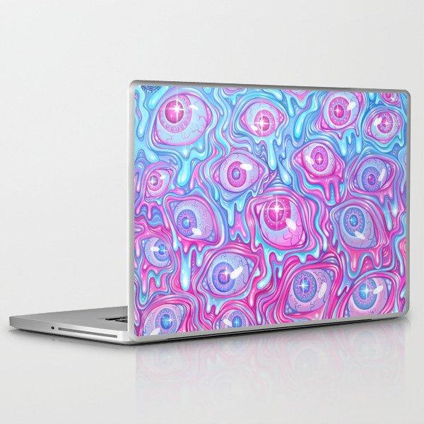 Eyeball Pattern - Version 2 Laptop & iPad Skin