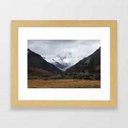 los andes Framed Art Print