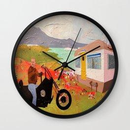 Butch Loses His L.A. Priveleges Wall Clock