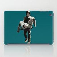 beth hoeckel iPad Cases featuring daryl and beth by Mia Eshkol