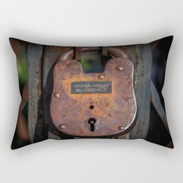 Locked Up Tight Rectangular Pillow