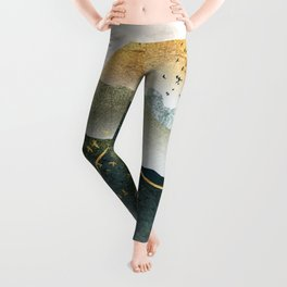 The rebirth of the world Leggings