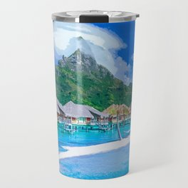 A Memorable Summer Vacation Travel Mug