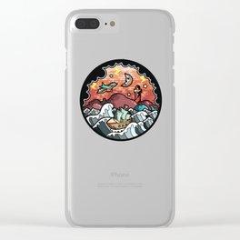 Storm landscape Clear iPhone Case
