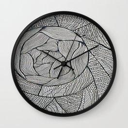 Zentangle #8 Wall Clock