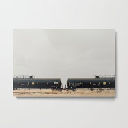 Trains Metal Print