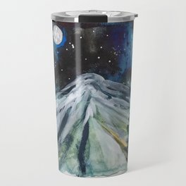 Night Mountain Travel Mug