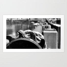 Dam Gears Art Print