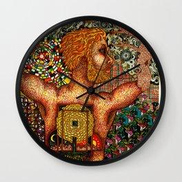 Cycles & Patterns Wall Clock