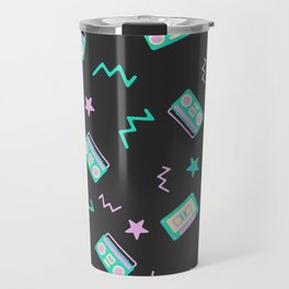 Retro radio pattern Travel Mug