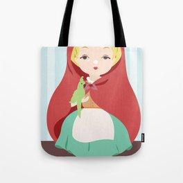 Porcelain Girl (Blond) Tote Bag