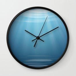 Come, Swim with me - series - ii -  Wall Clock