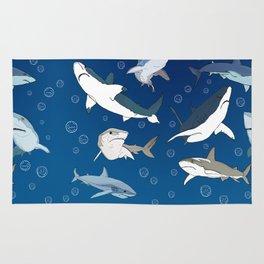 Sharkie Squad Rug